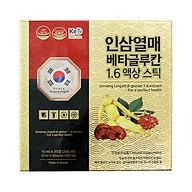 Nhân Sâm Linh Chi Beta Glucan 1.6 Extract 30 gói thumbnail