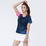 Áo thể thao cầu lông Nam Sunbatta Y-W2003 chất liệu 100% Polyester, nhẹ nhàng, khô thoáng, nhanh khô, không lưu lại mùi và vệt mồ hôi trên áo thumbnail