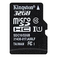 Thẻ Nhớ MicroSDHC Kingston Class 10 (16GB) thumbnail