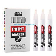 Hộp 6 cây bút sơn Baoke - MP560 màu trắng thumbnail