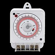 Công tắc hẹn giờ bật tắt thông minh, lắp đặt dễ dàng, linh hoạt an toàn cho người sử dụng và kéo dài tuổi thọ các thiết bị điện ( Tặng kèm đèn pin cơ mini bóp tay không sử dụng pin ) thumbnail