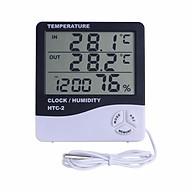 Máy đo nhiệt độ, độ ẩm độ chính xác cao HTC ver 2 - Tặng kèm pin AAA 1.5V thumbnail