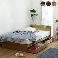 Giường ngủ cao cấp phong cách Nhật Bản - alala.vn (1m4x2m) thumbnail