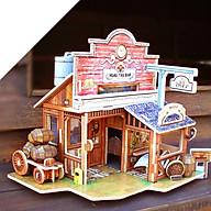 Đồ chơi lắp ráp gỗ 3D Mô hình Quán Bar F138 thumbnail