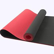 Thảm Yoga TPE Rakan a 6mm - Màu đỏ thumbnail