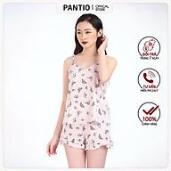 Bộ đồ ngủ nữ dáng suông họa tiết BNG5013 - PANTIO thumbnail