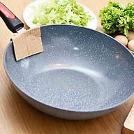 Chảo Vân Đá Ceramic 32cm Sâu Lòng, Dùng Được Cho Mọi Loại Bếp thumbnail