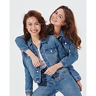 TheBlueTshirt - Áo Khoác Jeans Nữ Xanh Nhạt - Blue Dream Jean Jacket thumbnail