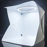 Hộp Studio Chụp Mẫu Sản Phẩm Tích Hợp 72 Đèn Led Siêu Sáng (22x23x24cm) HH.1A thumbnail