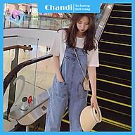 Yếm Jean Nữ Thương Hiệu Chandi, Yếm Nữ Quần cao cấp mẫu mới hot trend 2021 mã NT333 thumbnail