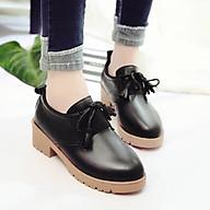 Giày Oxford Nữ Gót Vuông Cao 4,5cm Da Mềm Phong Cách Nữ Tính Tiểu Thư MBS566 - Mery Shoes thumbnail