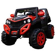 Ô tô xe điện địa hình A6500 đồ chơi vận động cho bé 2 chỗ 2 động cơ (Đỏ-Trắng-Cam) thumbnail