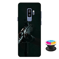 Ốp lưng nhựa dẻo dành cho Samsung Galaxy S9 Plus in hình PUPG - Tặng Popsocket in logo iCase - Hàng Chính Hãng thumbnail