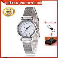 Đồng hồ nữ cao cấp_Tặng móc đeo chìa khóa thumbnail