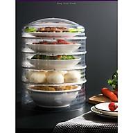 Lồng bàn giữ nhiệt bảo quản thức ăn 5 ngăn cao cấp thumbnail