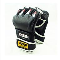 Găng tay đấm MMA wolon - đen thumbnail
