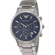 Emporio Armani Men s AR2448 Dress Stainless Blue Dial Watch thumbnail