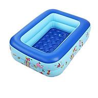 Phao bơi bể bơi hồ bơi 1m5 3 tầng 2m1 3 tầng cho bé siêu sịn có hộp thumbnail