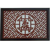 Tấm Ám Khói Bàn Thờ Chữ Thọ Tiếng Hán thumbnail