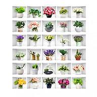 Tranh 3D Dán Cầu Thang Hình Chậu Hoa DLT009 AZONE thumbnail