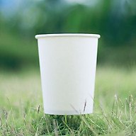 Combo 100 Ly giấy 8oz 240ml, dùng uống nước một lần thumbnail