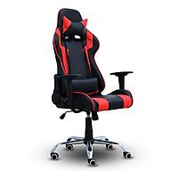 BG Ghế chơi game Mẫu E01 (Red Black) chân xoay 360 độ, ngả 165 độ (hàng nhập khẩu) thumbnail
