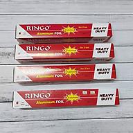 Combo 4 Cuộn Giấy Bạc Ringo R12 Nướng Đồ Ăn, Làm Bánh thumbnail