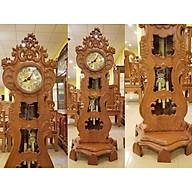 Đồng hồ cây đàn gỗ gõ đỏ-DH122 thumbnail