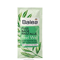 Balea foot bath salt 40g thumbnail