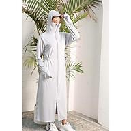 Áo khoác chống nắng nữ- áo chống nắng nữ toàn thân thumbnail