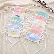 Khẩu trang sợi tre, Khăn bịt mặt vải xô sợi tre 4 lớp bịt mặt chống bụi cho bé từ sơ sinh đến dưới 5 tuổi thumbnail
