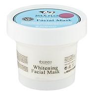 Mặt nạ dưỡng trắng và trẻ hóa da Beauty Buffet Scentio Milk Plus 100ml thumbnail