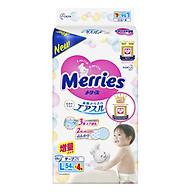 Bỉm - Tã dán Merries size L 58 nội địa (Cho bé 9 - 14kg) thumbnail