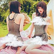 Đồ Ngủ Tất Lưới Cosplay Bodystocking Erotic Lingerie Nightwear Brave Man BCS21 37 8116 thumbnail