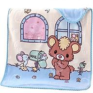 Chăn Nhung Tuyết 2 Lớp Hình Thú - Tặng 1 muỗng ăn cho bé thumbnail