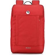 Balo laptop cao cấp 15.6 inch (Macbook 17inch) Mikkor Kalino Backpack nhiều ngăn tiện dụng, chống thấm nước, ngăn đựng laptop chống sốc có đai cài an toàn, quai đeo êm ái giúp giảm bớt cảm giác mỏi vai và lưng khi đeo. thumbnail