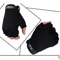 Găng tay phươ t, tâ p Gym, thê thao đa năng thiết kế hở ngón tiện dụng chất liệu vải thun co dãn tốt Thời Trang (XL) - Gang tay phuot, tap gym, the thao da nang thumbnail