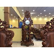 Đồng hồ cô gái gỗ hương loại lớn DH05 thumbnail