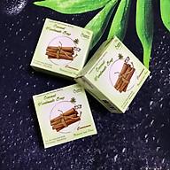 Xà phòng handmade (3 bánh) - Xà phòng kháng khuẩn (Vỏ quế)- Xà phòng handmade với thành phần từ thiên nhiên, an toàn dịu nhẹ, cho làn da mềm mại - Không gây khô rít da thumbnail