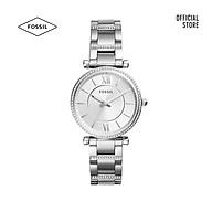 Đồng hồ nữ Fossil CARLIE dây kim loại ES4341 - màu bạc thumbnail