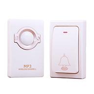 Chuông cửa không dây MR-868 (nhấn nhẹ nhàng, phạm vi hoạt động lớn, không sử dụng pin) thumbnail