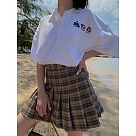 chân váy kẻ tennis SK95 1994closet thumbnail
