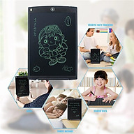 Bảng viết, bảng vẽ điện tử thông minh 8.5 inches tự động xóa cho bé tặng Quyển Ehon Động vật Bạn màu gì vậy (màu ngẫu nhiên) thumbnail