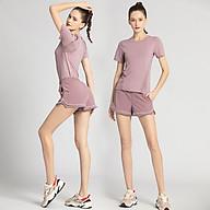 Bộ đồ tập Gym nữ KENZI-56 phong cách Hàn Quốc vải thun lạnh co giãn tốt 4 chiều thumbnail
