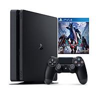 Bộ Máy Chơi Game Playstation 4 Slim Model 2218A (500GB) Kèm Đĩa Game Devil May Cry 5 - Chính Hãng thumbnail