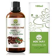 Tinh dầu Cà Phê (Coffee) 100ml Mộc Mây - tinh dầu thiên nhiên nguyên chất 100% - chất lượng và mùi hương vượt trội thumbnail