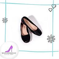 Giày Búp Bê Da Thật Thời Trang Nữ Công Sở Mũi Vuông Size 35 39. 4 màu Đen Kem - Trắng Kem - Hồng Ruốc 2323 thumbnail