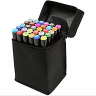 bút màu Touch Mark 30 màu đen cao cấp thumbnail