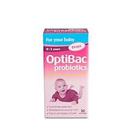 Men vi sinh Optibac Probiotics hồng dạng giọt 10ml thumbnail