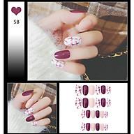 Bộ 24 móng tay giả như hình S8 (kèm keo) thumbnail
